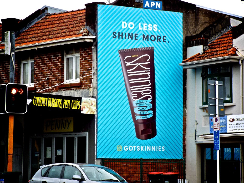 Skinnies - 'Do Less, Shine More'