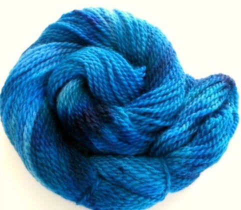 Hand Dyed Finnsheep Wool Yarn