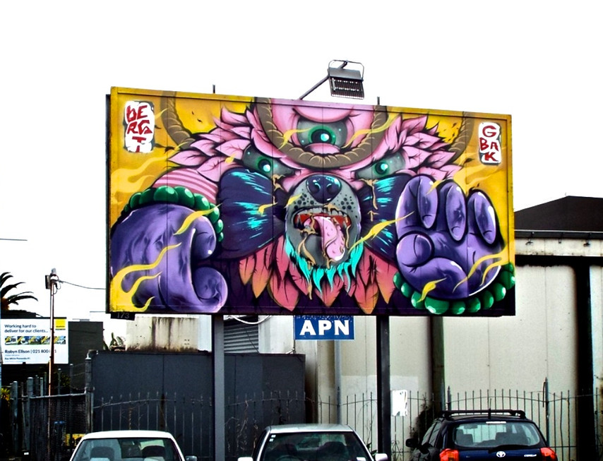 Creative Hush - Painted Bear Activation