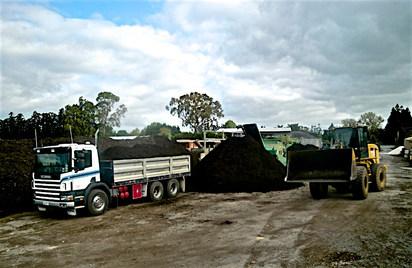 Topsoil transport