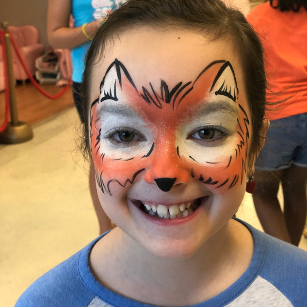 Face Painting Available