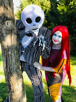 Skellington Couple