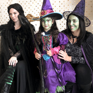 We love when witch's come to visit