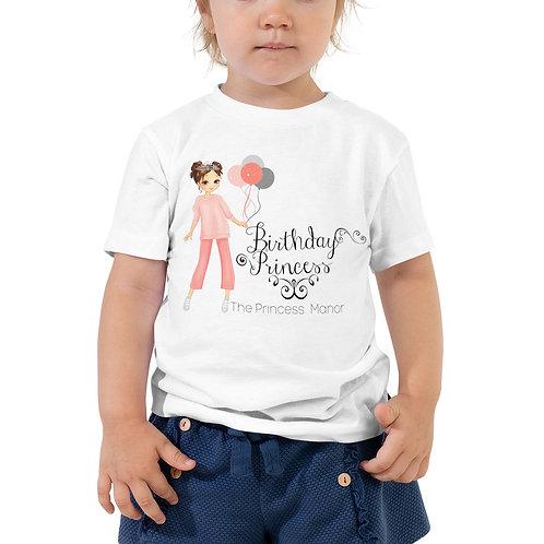 Happy Birthday Toddler Short Sleeve Tee