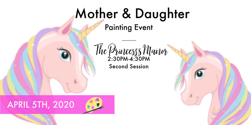Mother & Daughter Paint- 2nd Session