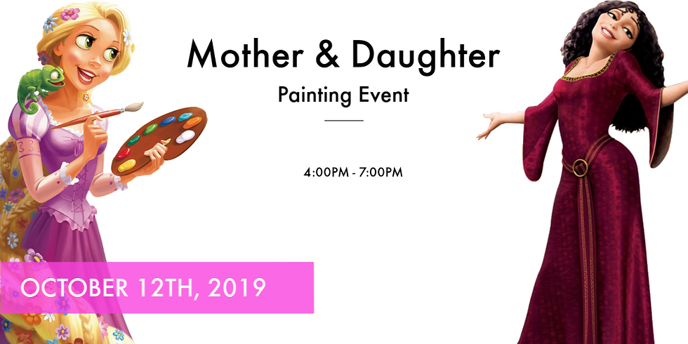 Mother & Daughter Paint
