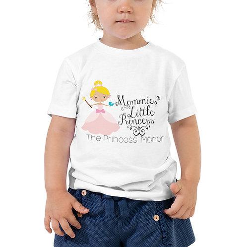 Mommies Princess Blonde Toddler Short Sleeve Tee