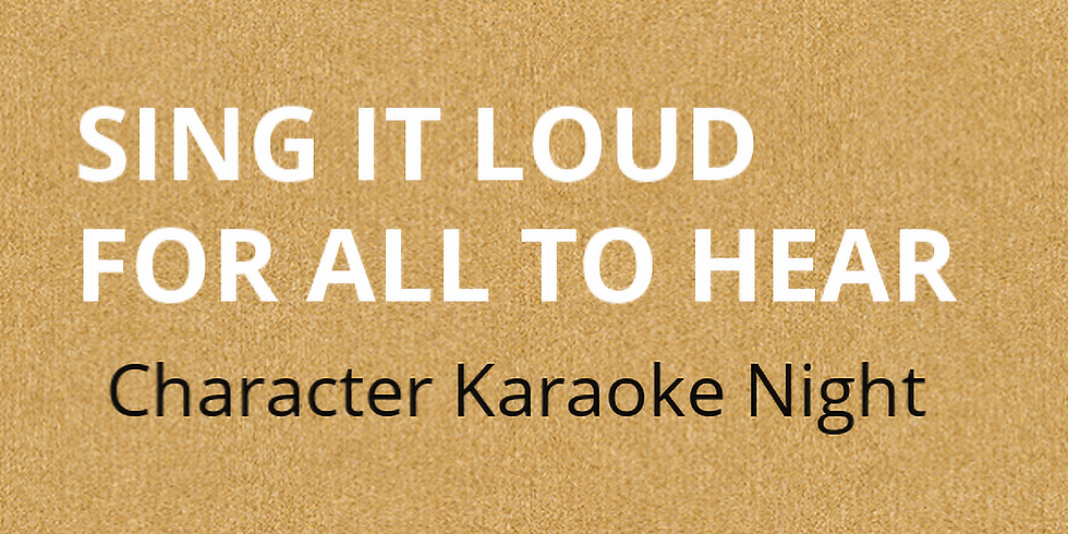 Kids Night Out- Sing It Loud For All To Hear Character Karaoke