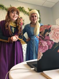 Snow Sisters Virtual Chat