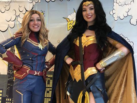 Double the superhero fun