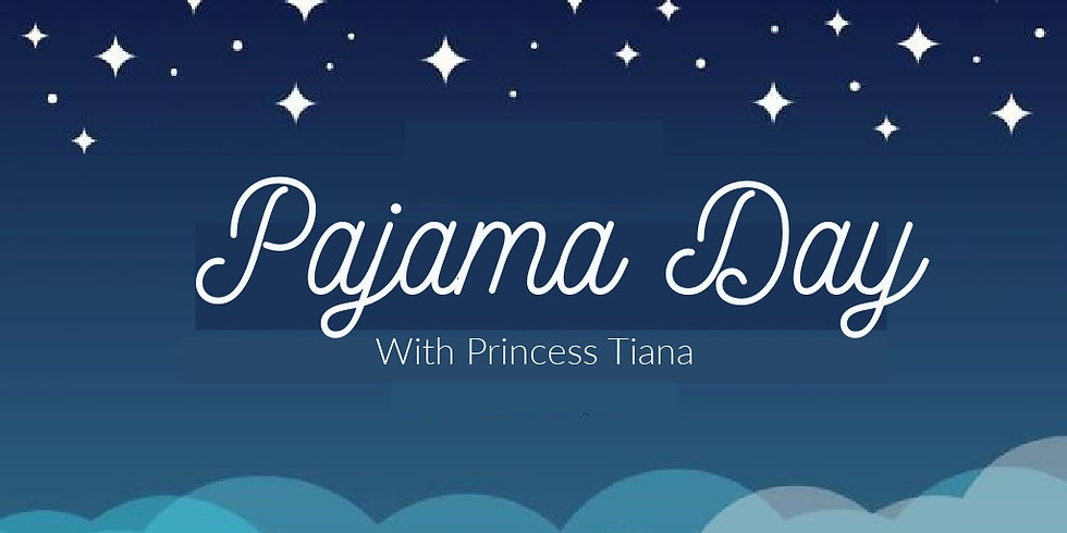 Pajama Day With A Princess