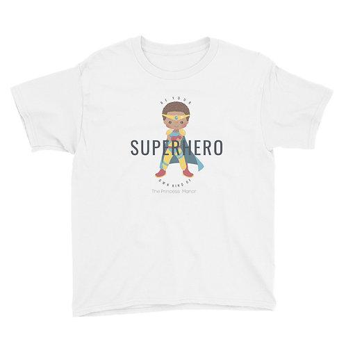 Youth Boy's Superhero Short Sleeve T-Shirt
