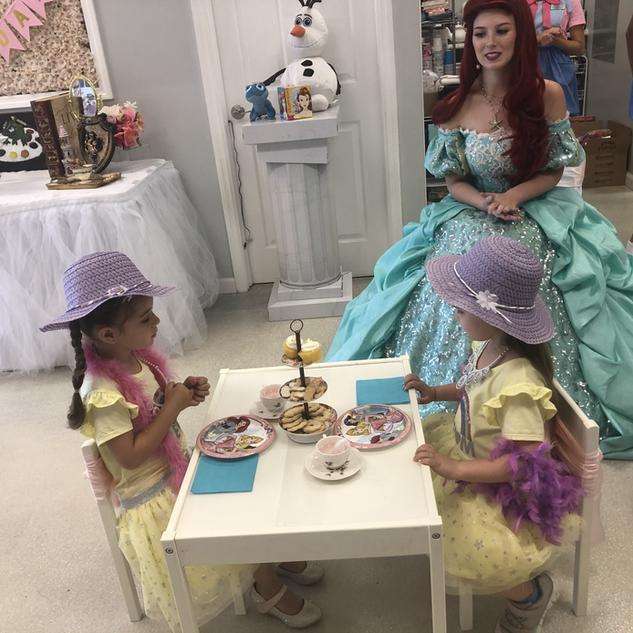 Tea Date With A Princess