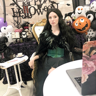 Virtual Witch Tea Party