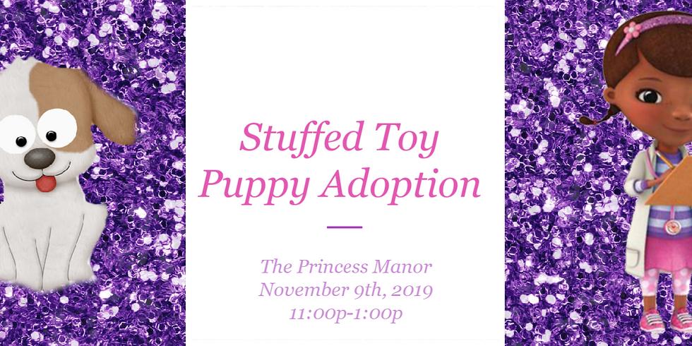 Stuffed Toy Puppy Adoption Event