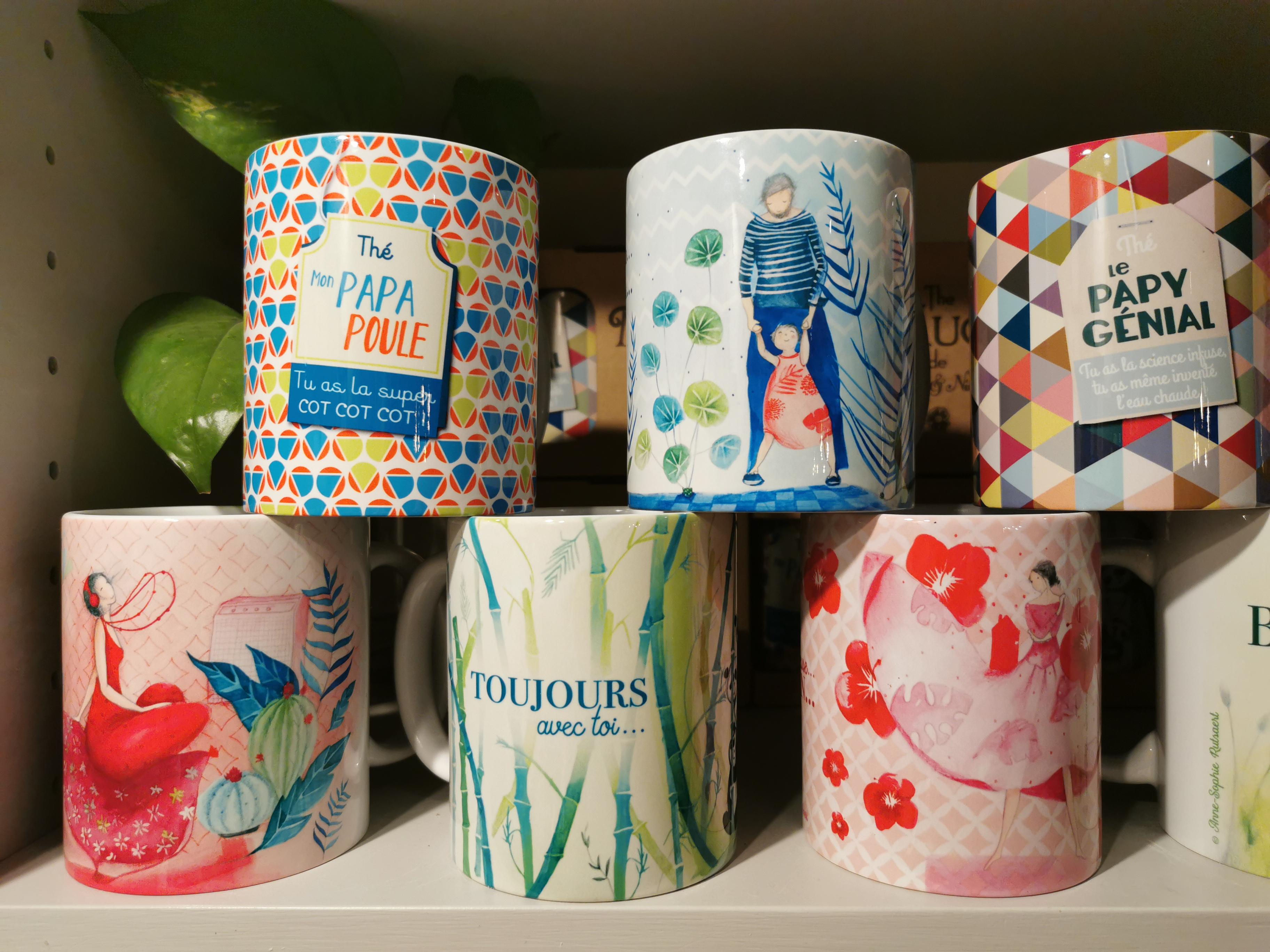 Mugs aux doux messages - 12€