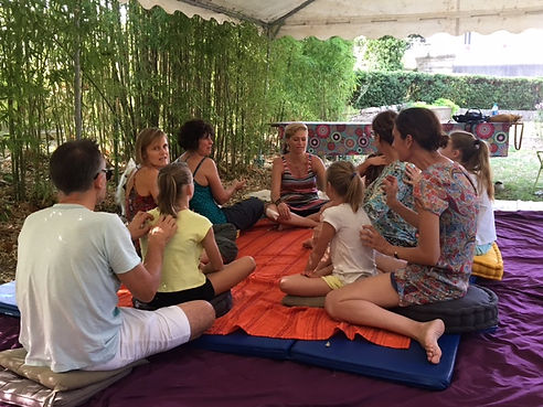 Massage famille