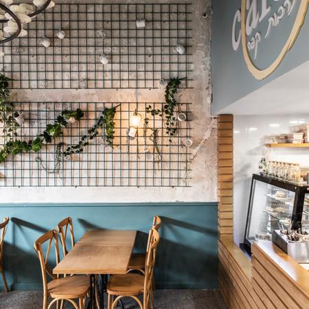 בית קפה Cafein, סניף מרכז הכרמל