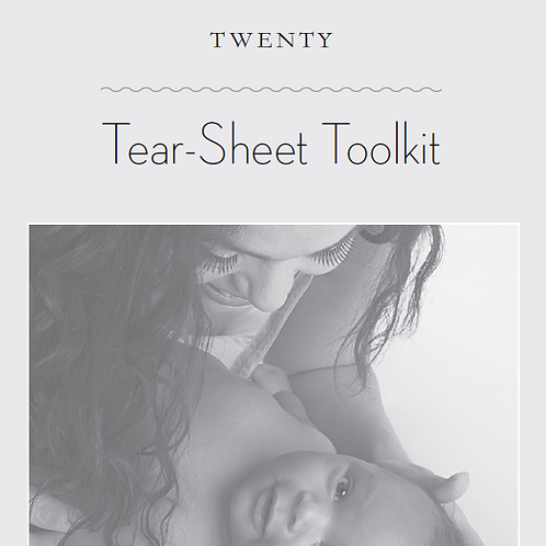 The Womanly Art of Breastfeeding Tearsheet Toolkit