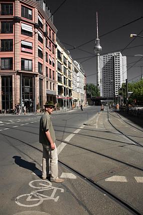 Berlin,  Berliner Fernsehturm - Hackescher Markt