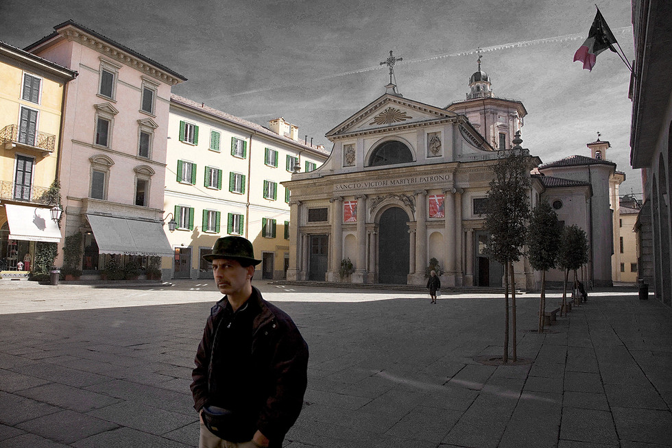 Varese,  Basilica di San Vittore - Piazza San Vittore