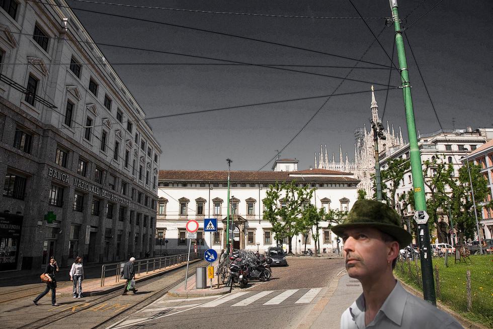 Milano,  Banca Nazionale dell'Agricoltura - Piazza Fontana