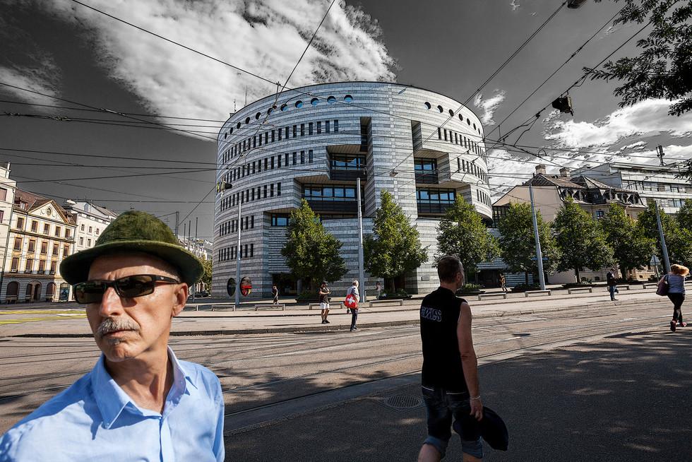 Basel,  Bank for International Settlements - Aeschenplatz