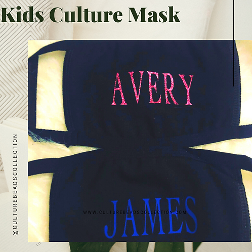Kids Custom mask from 3-9 years old