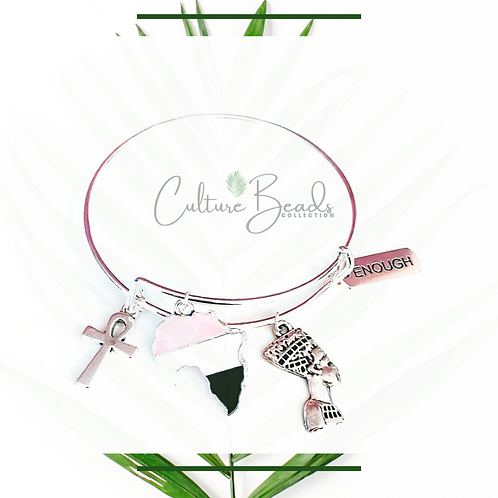 Culture Bangles Stainless Steel  Bracelet