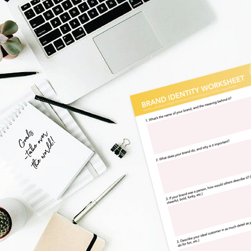 Brand Identity Worksheet