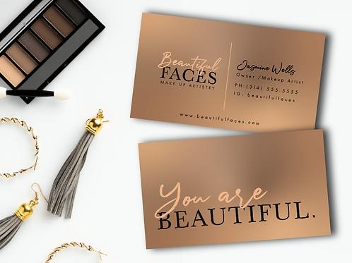 Beautiful Faces Branding Starter Package