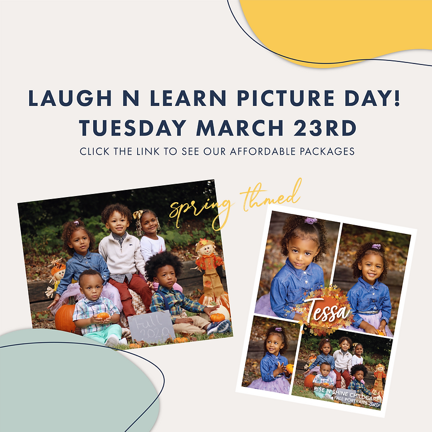 Laugh N Learn Spring Picture Day!