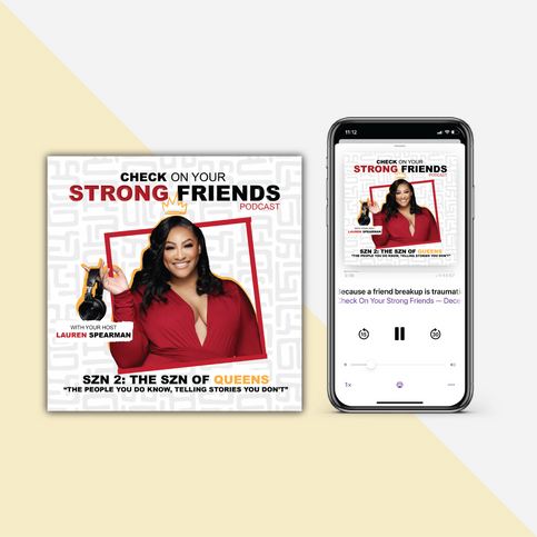 Podcast Promo Check on Your Strong Friends