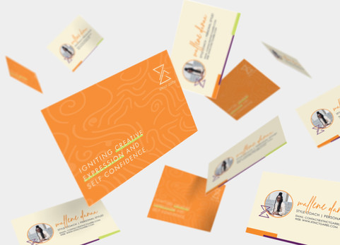 Business Card Design for Xtinct Garbs