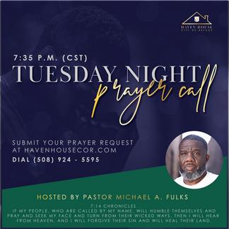 Haven House Prayer Call