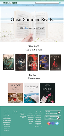 Barnes & Noble Ecommerce Redesign