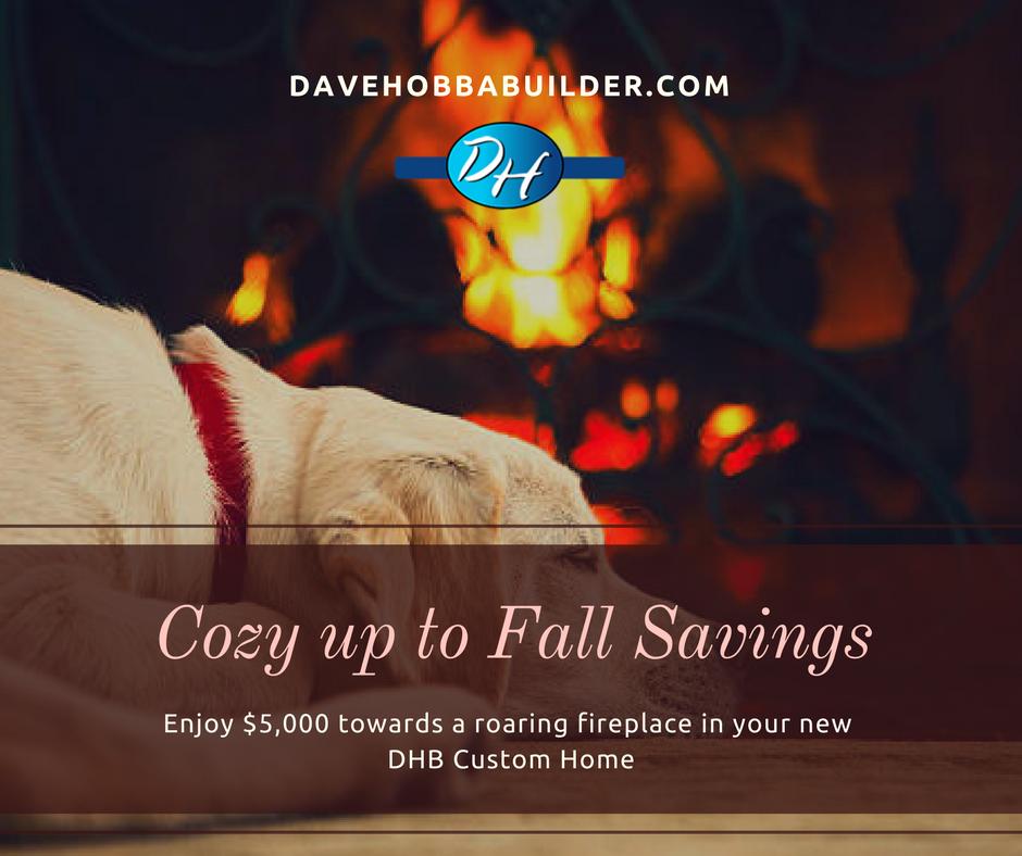 Cozy up to Fall Savings
