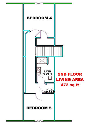 SPARROW  COTTAGE  STARTER  2ND FLOOR  8-