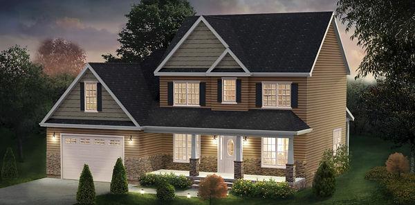 The Thornton House Plan by DHB