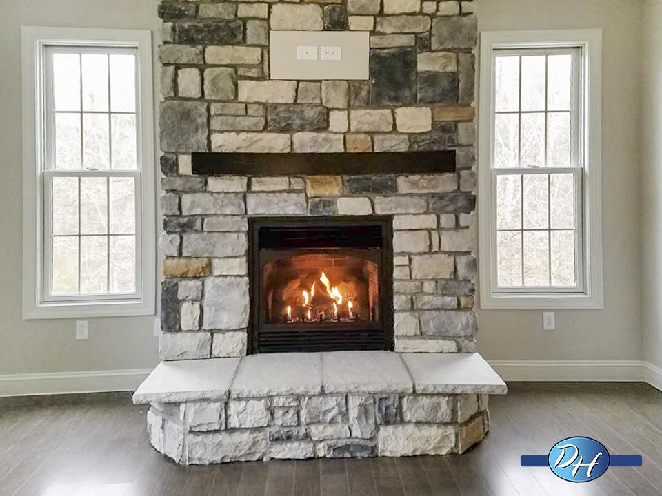 Bridgeport fireplace