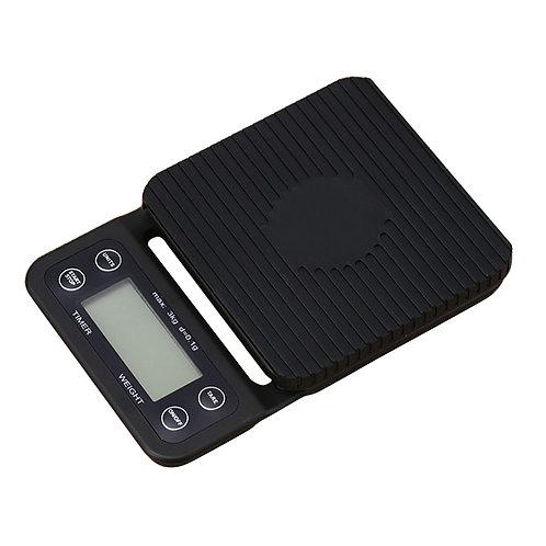 Цифровые весы с таймером, 3000 г/0,1 г