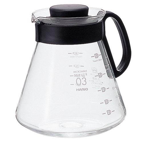 Чайник сервировочный 800 мл. HARIO XVD-80B
