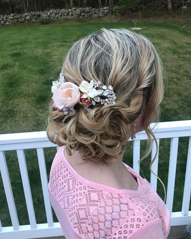 Updo Flower Power
