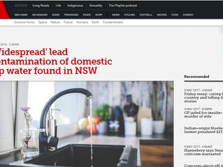 Lead Contamination NSW Australia