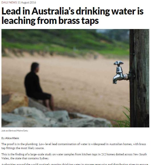 https://www.newscientist.com/article/2100806-lead-in-australias-drinking-water-is-leaching-from-brass-taps/