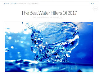 Best Water Filters of 2017