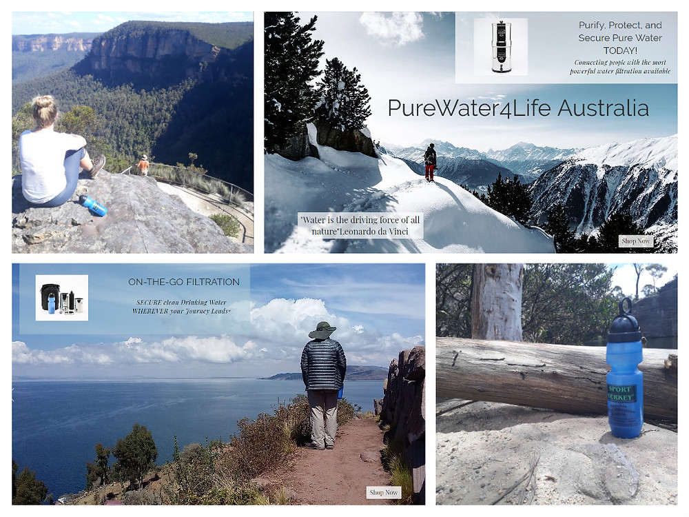 On-the-go Water Purification From Purewater4life.com.au