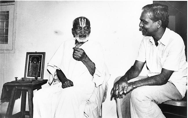 T.Krishnamacharya & TKV Desikachar