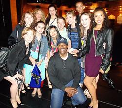 On Motown Stage