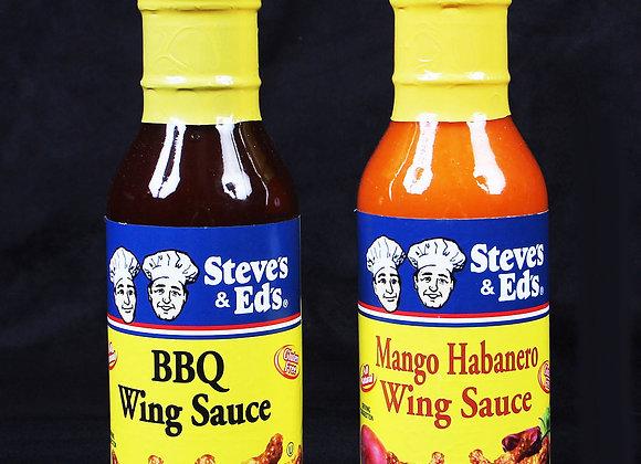 Steve's & Ed's BBQ & Mango Habanero Wing Sauce